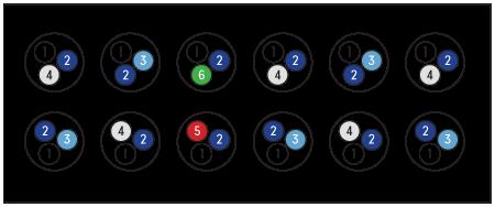 RAMPE LED SERIE 6 - 45 MARINE AQUARIUM SYSTEMS