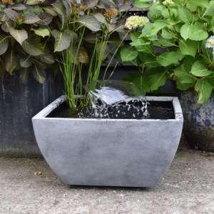 Mini Bassin carré gris Ubbink