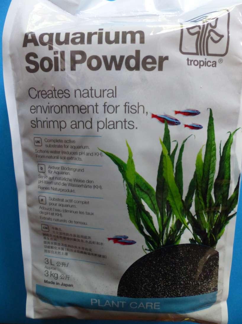 Soil powder 3L Tropica